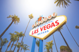 A stock photo of the Welcome to Fabulous Las Vegas Nevada sign.